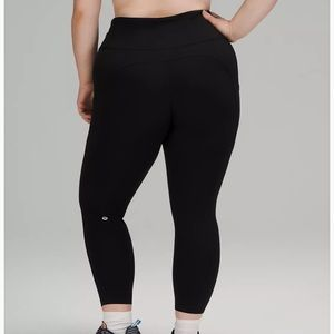 """Lululemon Fast and Free High-Rise Tight 25"""" size 4"""